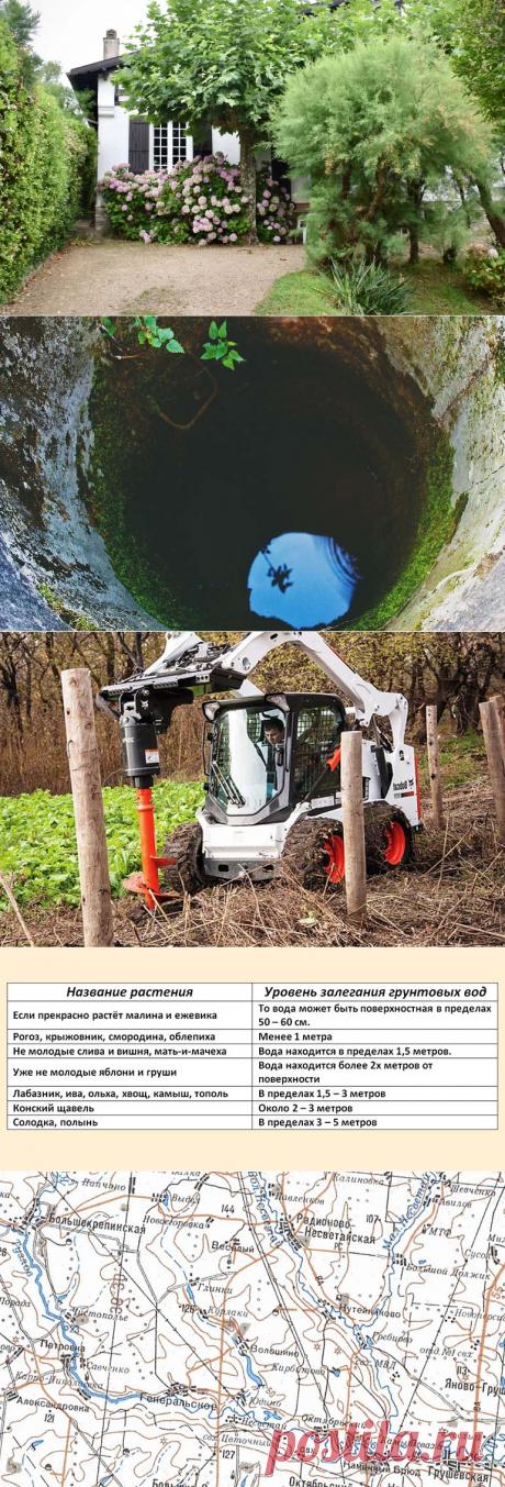 Как узнать уровень грунтовых вод на участке: без специальной техники