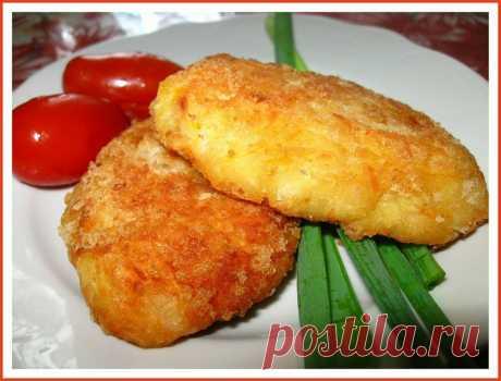 Ароматные котлетки из фасоли и картофеля (постные)