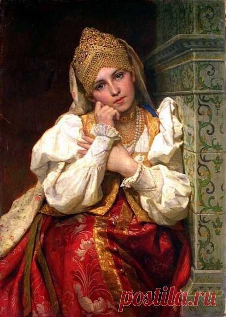 Царь Иван Грозный и его восемь жен:часть V - Мария Долгорукая .