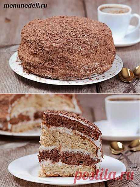 Рецепт сметанного торта.