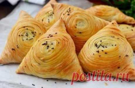 Самса узбекская слоеная Вкусная, слоеная, сочная и сытная самса понравится всем без исключения. Сохрани себе!