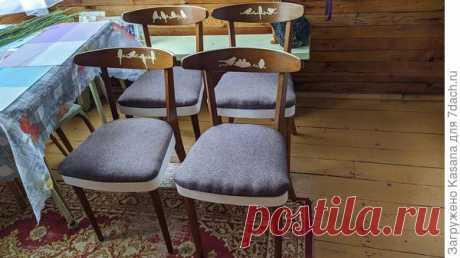Ремонт и обновление старых стульев своими руками. Пошаговый мастер-класс с фото