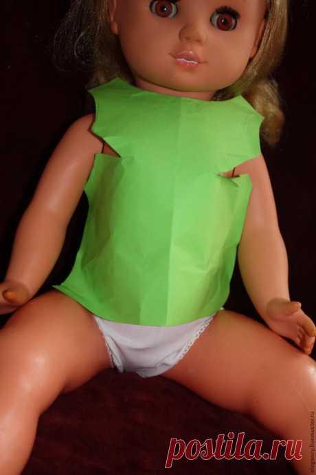 Как сшить одежду для куклы: для тех, кто не умеет строить выкройки - Ярмарка Мастеров - ручная работа, handmade