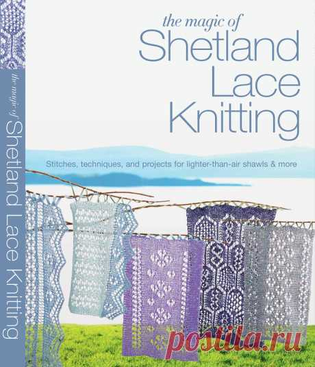 Альбом«The Magic of Shetland Lace Knitting»/платки,шали,узоры