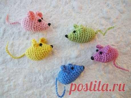 Маленькая мышка Little Mouse Crochet