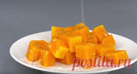 Десерт из тыквы за 6 минут: конфеты осенью не покупаю | Кухня наизнанку | Яндекс Дзен