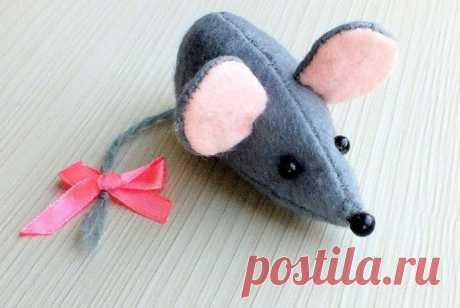 Крыса (мышь) своими руками - символ 2020 года из разных материалов на Новый год
