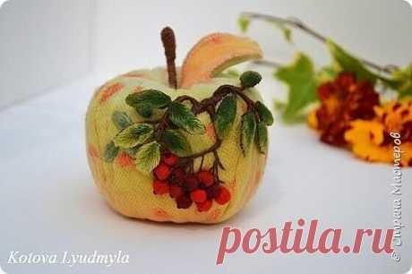 Завораживающие яблочки и груши от Людмилы Котовой! - Своими руками! - медиаплатформа МирТесен