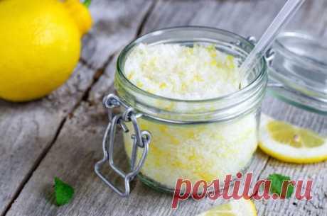 Как сделать лимонный скраб для тела? — Полезные советы