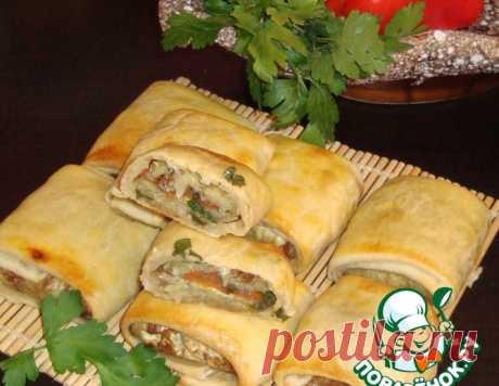 "Закуска ""Баклажаныч"" – кулинарный рецепт"