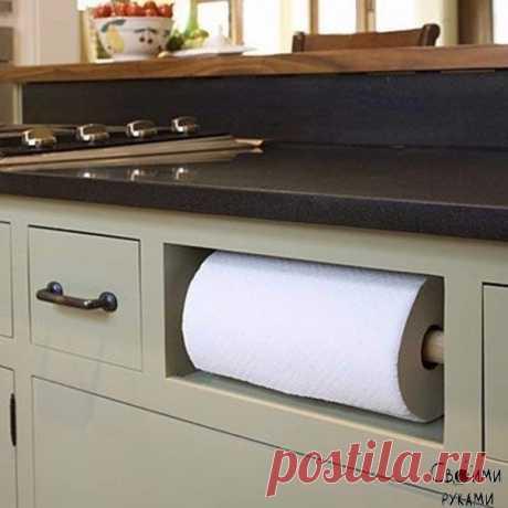 8 бесконечно удобных способов сэкономить место на кухне — Полезные советы