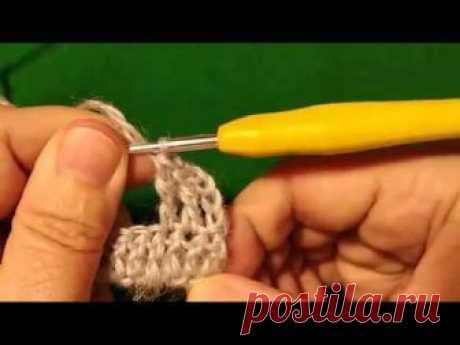 Продолжаем учиться вязать крючком - еще несколько видов столбиков | Дневник вязальщицы | Яндекс Дзен