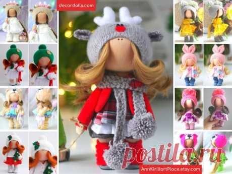 Winter Decoration Doll Handmade Deer Tilda Doll Christmas   Etsy Hello, dear visitors!  This is handmade textile doll created by Master Natalia Pe (Moscow, Russia). Doll is made by Order. Order processing time is 7 - 9 calendar days.  All dolls stated on the photo are made by artist Natalia Pe. You can find them in our shop searching by artist name: