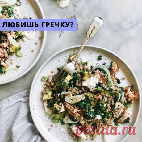 Простой рецепт. Гречневая каша с грибами