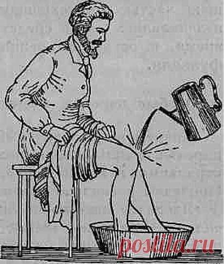 Обливание ног | Будь здоров
