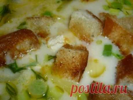 Куриный суп с сыром — рецепт с фото пошагово