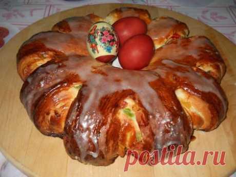 Пирог на Пасху, рецепт с фото