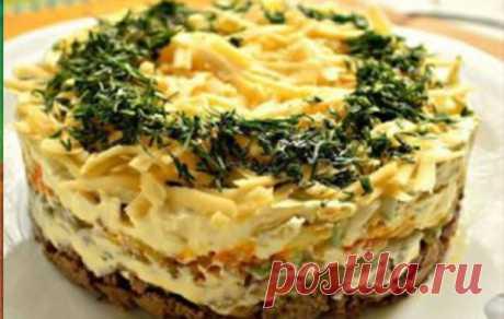 Самый нежный салат с куриной печенью — Умный совет