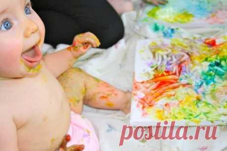 Краски, пластилин и другие рецепты для творчества и веселого развития - Поделки с детьми   Деткиподелки