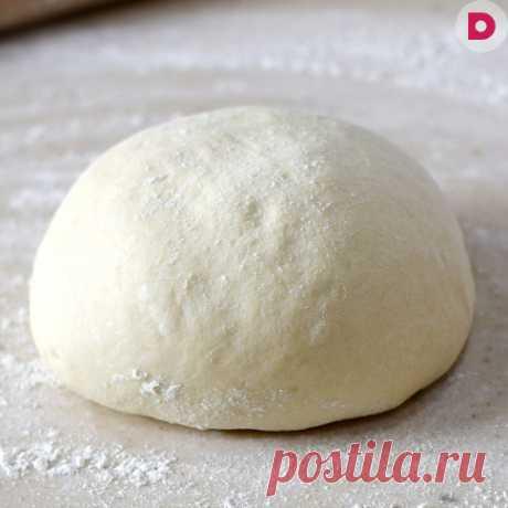 Тесто для пирожков из творога, рецепт приготовления в домашних условиях