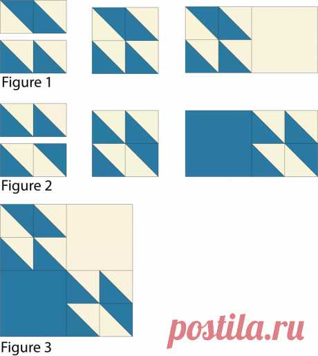 Easy Hunter's Star Quilt Pattern
