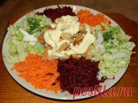 Салат «Огород» — Sloosh – кулинарные рецепты