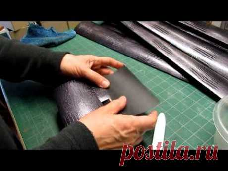 Covering and Lining a Box in One Proceedure - YouTube