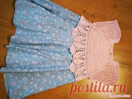 Платье для девчули. - Вязание для детей - Страна Мам