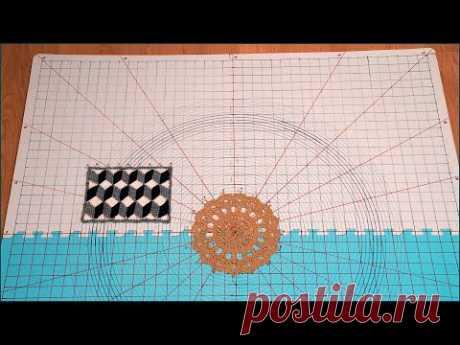 Самодельный мат для растяжки вязаных изделий из коврика-пазла. Mat for stretching knitwear.