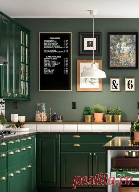 Угловая кухня: 4 отличные идеи. С верхними шкафами или без них - как лучше? | Дизайнер интерьера & Любитель | Яндекс Дзен