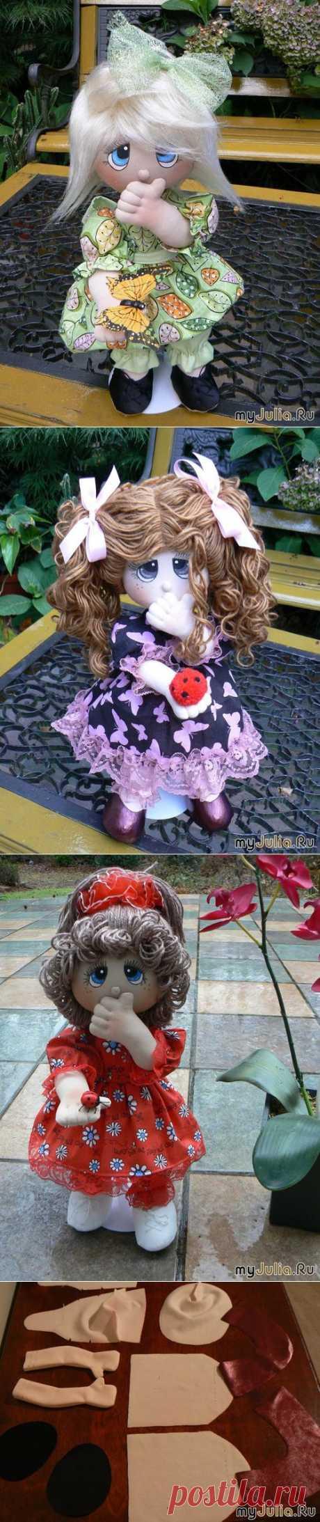 """Мастер-класс по текстильной куколке """"Precious Moments""""."""
