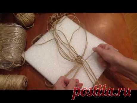 (1) Плетение салфеточки по кругу. шаг 3 - YouTube