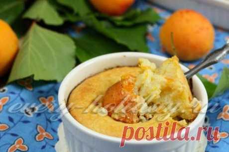 Рисовая запеканка с творогом и абрикосами: рецепт с фото