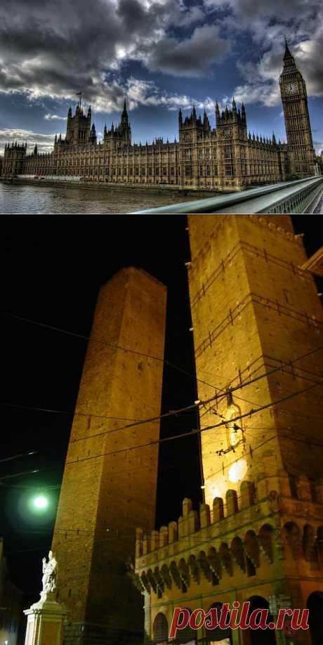10 самых известных падающих башен : НОВОСТИ В ФОТОГРАФИЯХ