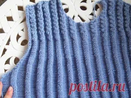 способ вязания спицами проймы рукава - Секреты легкого вязания для начинающих от Марины.