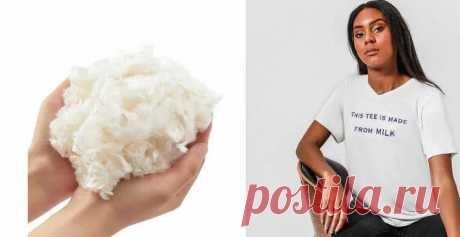 Футболки будут делать из прокисшего молока Метод начинается с извлечения белка казеина из бактерий, выращенных в «прокисшем» молоке. Затем процесс под названием Sea-Re очищает его до «хорошего» белка. Протеины выделяются и затвердевают в волокна, которые растягивают и превращаются в пряжу, готовую для использования в производстве одежды.