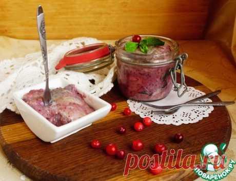 Скумбрия в клюквенном маринаде – кулинарный рецепт