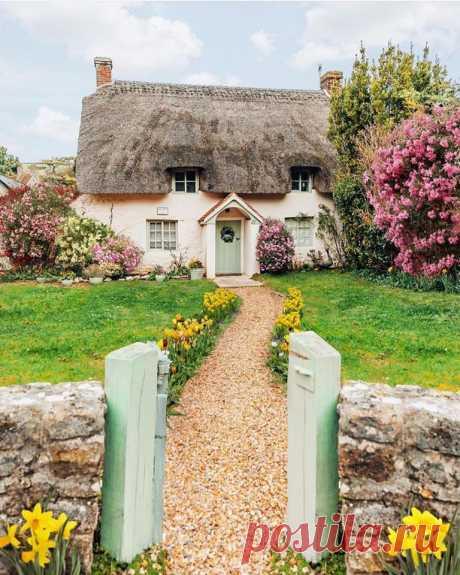 Домик в английской деревне ❤