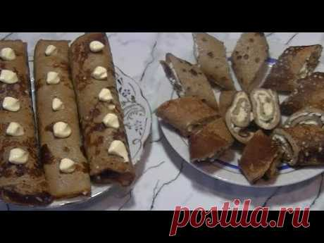 The most delicate hepatic rolls with a stuffing