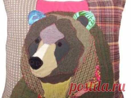 Медведи в пэчворке для взрослых и не очень