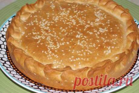 "Egyptian pie of ""Hegazey\"" 