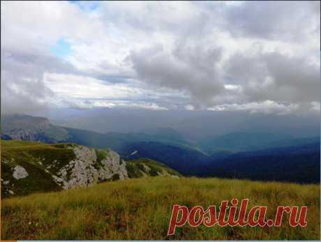 На Кавказе, у Оштена, на тропе туристической, начало Осени... - 10 Сентября 2016 - Персональный сайт