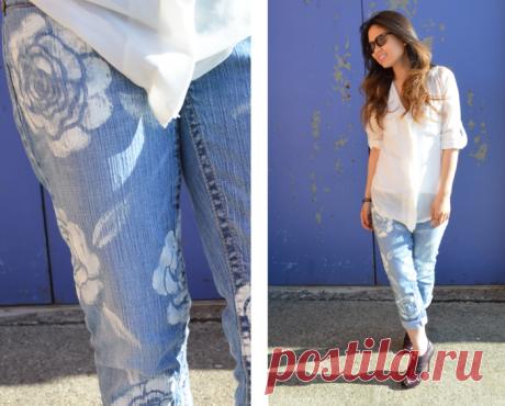 Роспись джинсовой одежды - Сделай сам - медиаплатформа МирТесен