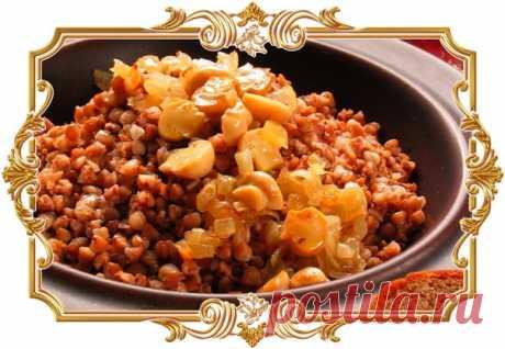 Гречка для Великого Поста (рецепт вегетарианский, и постный)  Прекрасный рецепт для полноценного питания во время Великого Поста.  Сложность приготовления: легкая. Показать полностью…