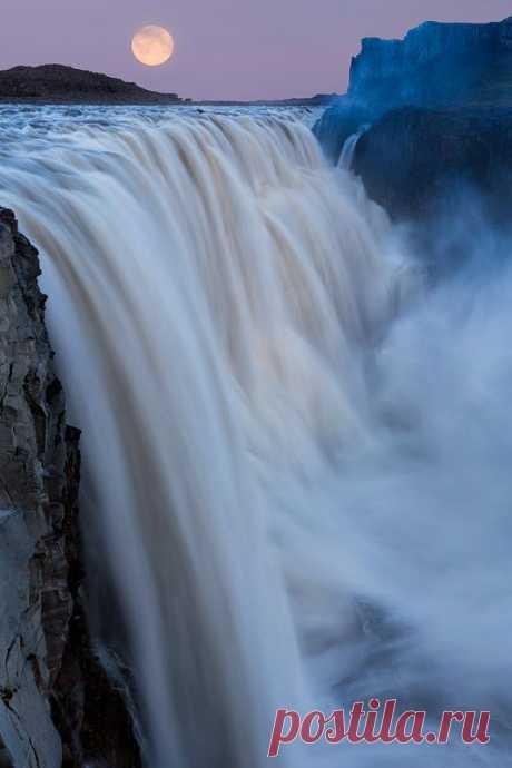 Photograph Dettifoss nature love - Waterfalls Love