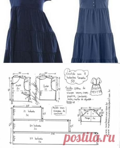 Мастера и умники: Выкройка летнего платья