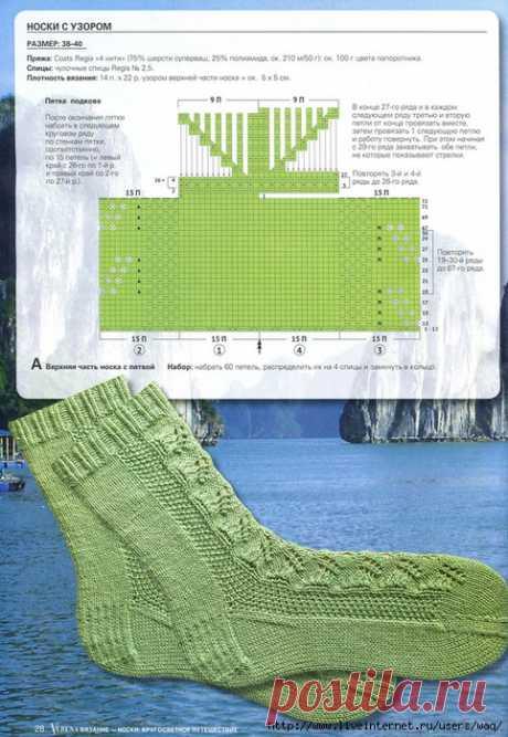Knitting by spokes | Records in the heading Knitting spokes | the Diary Vyazhem_spitsami_i_kryuchk