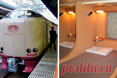 Плацкартные вагоны Японии 100% удивят наших соотечественников В этом небольшом видео-обзоре вам расскажут о японских поездах для дальних расстояний. Как правило, в них есть вагоны трех классов, они отличаются по цене и