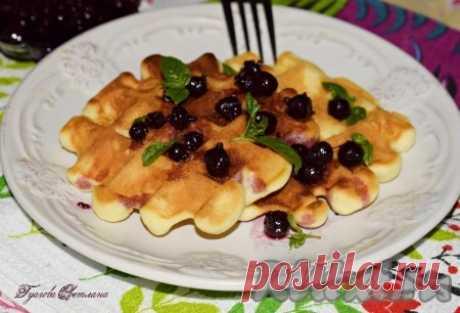 Рецепт вафель в мультипекаре Редмонд - 16 пошаговых фото в рецепте