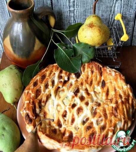 Пирог с грушами и сыром – кулинарный рецепт
